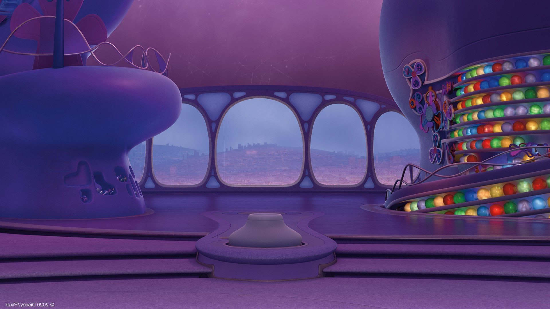 Pixar Inside Out virtual background - Contentlab